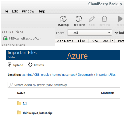 Verify Cloudberry Backup Files