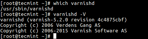 Verify Varnish Cache Installation