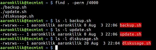 How to Find Files With SUID and SGID Permissions in Linux