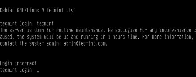 Block User Login in Linux
