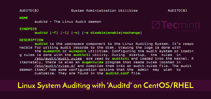 Linux System Auditing with Auditd on CentOS