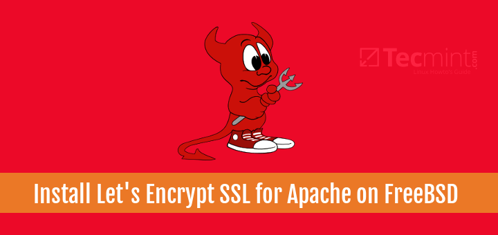 Install Apache Let's Encrypt SSL Certificate on FreeBSD