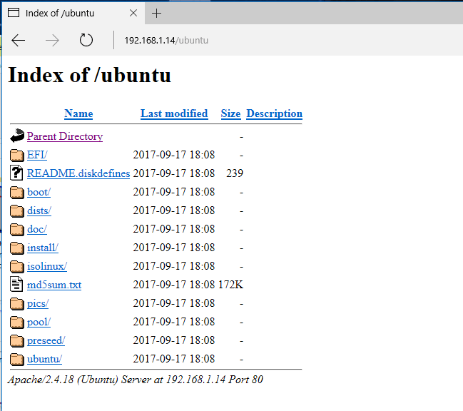 Check HTTP Ubuntu Sources