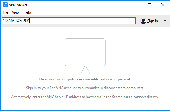 VNC Viewer Client
