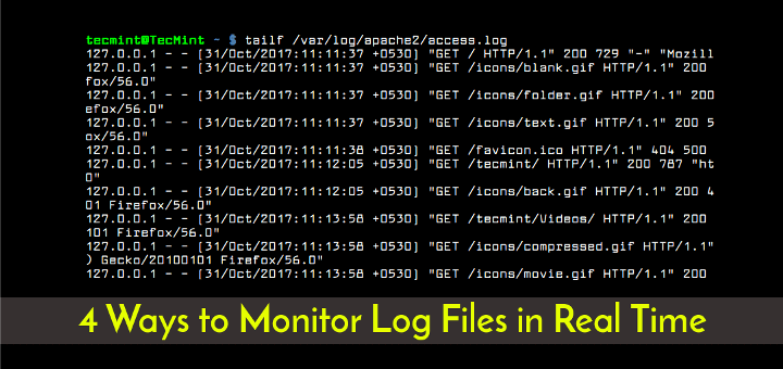 Monitor Linux Log Files in Real Time