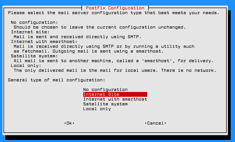 Install a Complete Mail Server with Postfix and Webmail in Debian 9