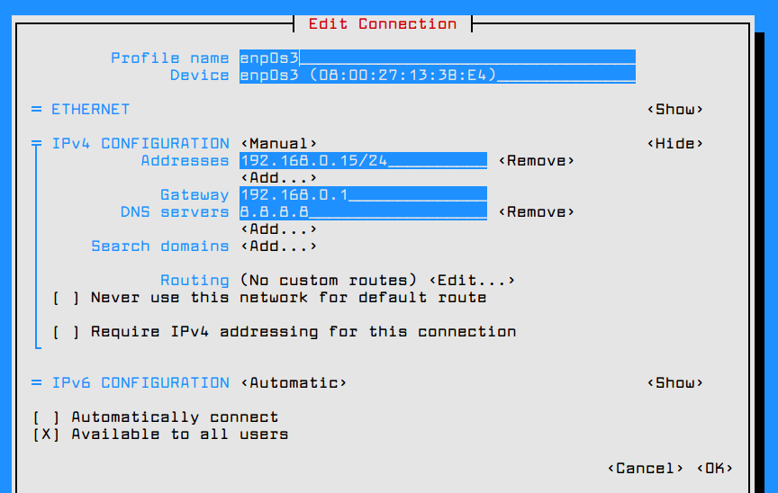 Initial Server Setup and Configurations on RHEL 7