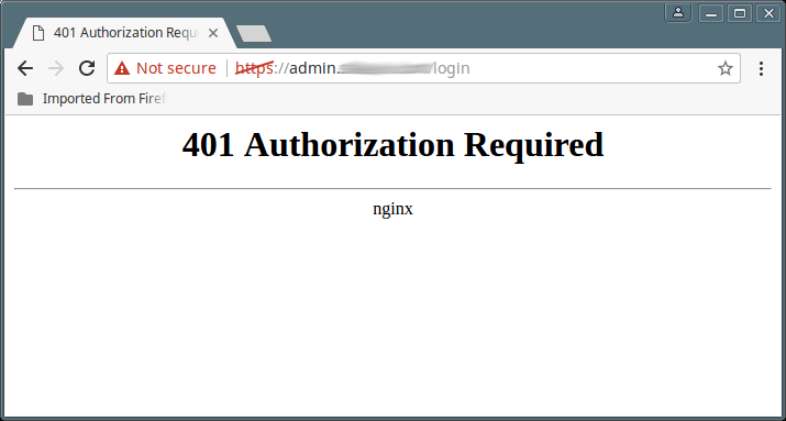 How to Configure Basic HTTP Authentication in Nginx