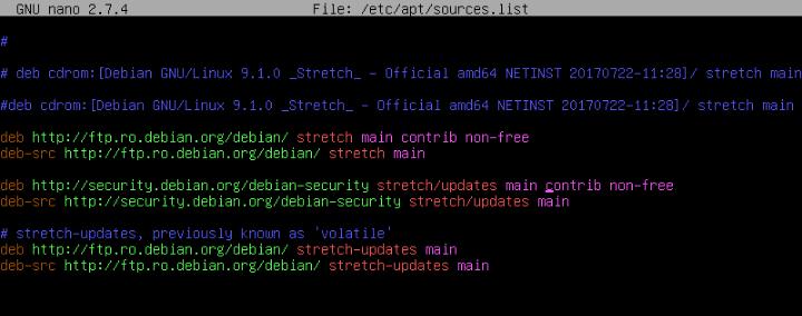 Add Repositories to Debian