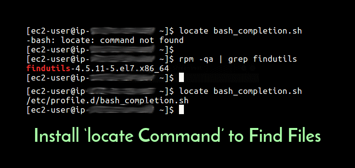 Install Locate Command in Linux