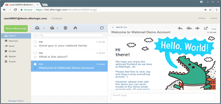 WebMail Lite - Manage and Download Mails From Gmail, Yahoo