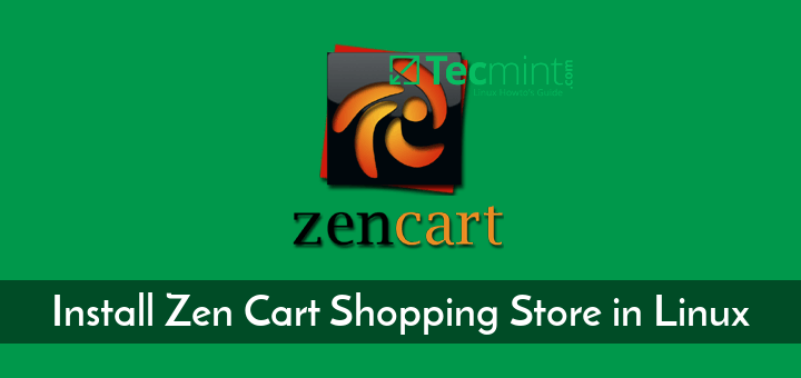 Install Zen Cart Shopping Store in Linux