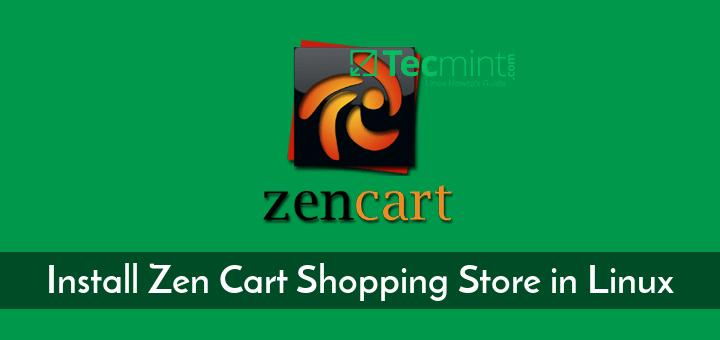 Install Zen Cart Shopping Store in Linux
