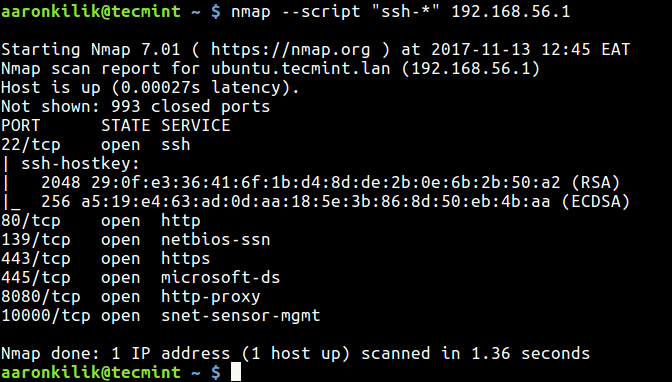 How to Use Nmap Script Engine (NSE) Scripts in Linux