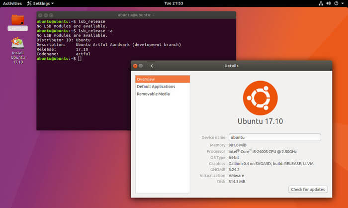 Ubuntu Distribution
