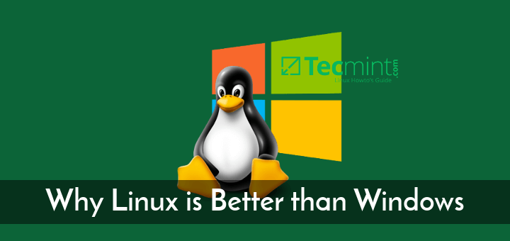 Why Linux Is Better Than Wind