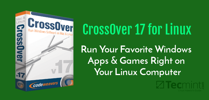 CrossOver Run Windows Games on Linux