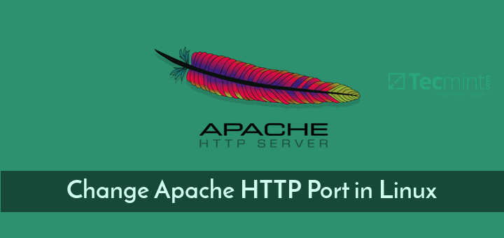 Change Apache Port in Linux