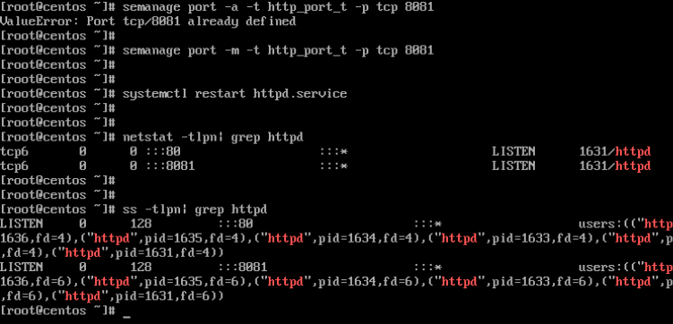 Check Apache Port on CentOS and RHEL