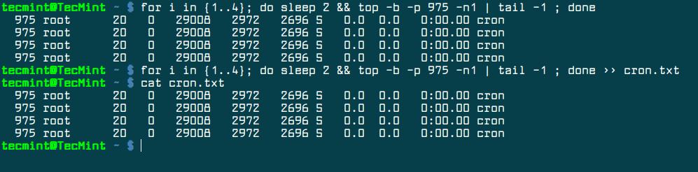 Find Linux Process Statistics