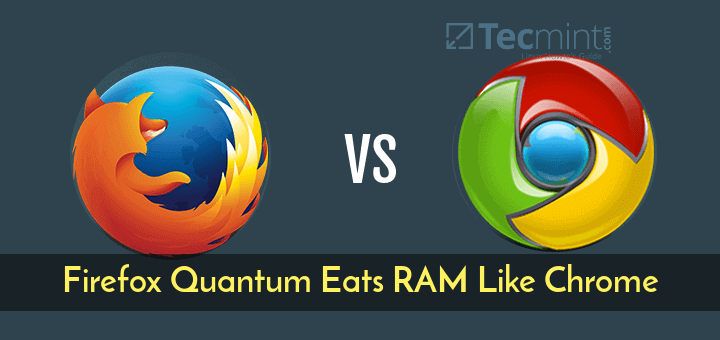 Firefox Quantum vs Google Chrome
