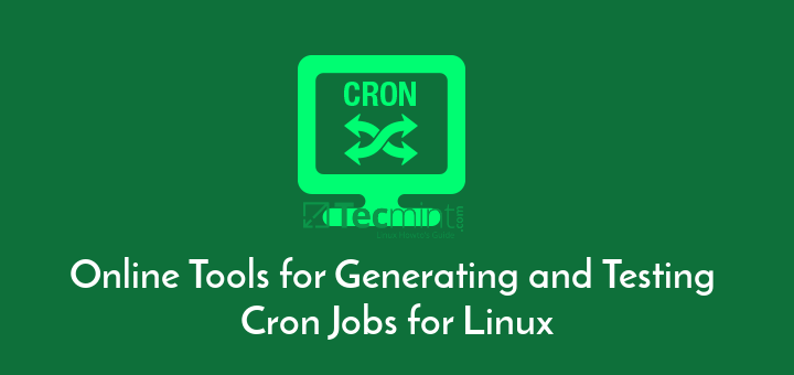 Online Cron Job Generator and Tester
