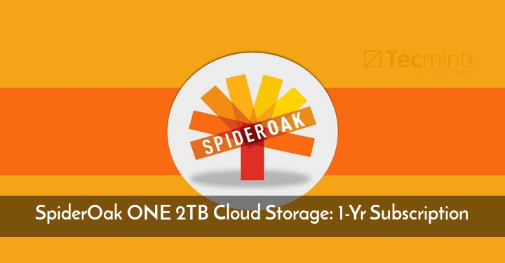 SpiderOak ONE 2TB Cloud Storage
