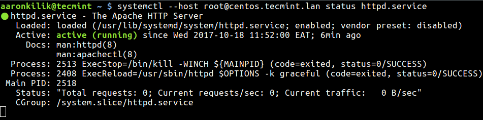 Manage Systemd Service on Remote Linux