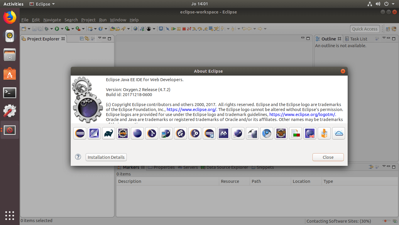 Eclipse IDE on Ubuntu