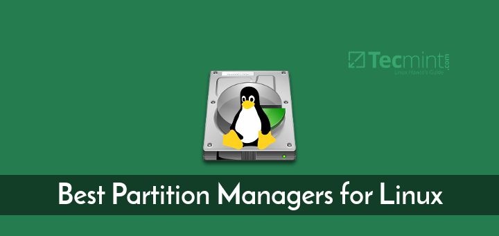 Linux Partition Managers