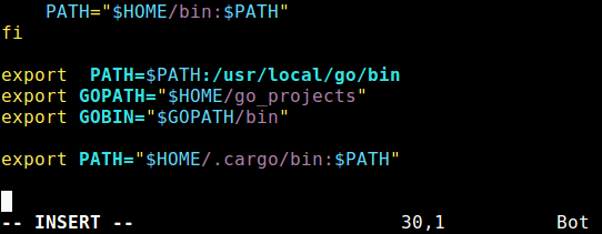 Add Rust Cargo Bin Directory to PATH