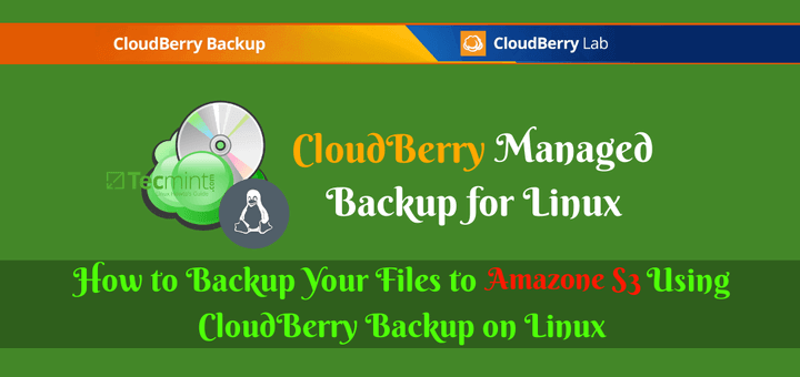 Backup Files to Amazon S3 Using CloudBerry Backup