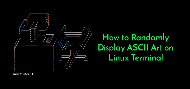 Display ASCII Art on Linux Terminal