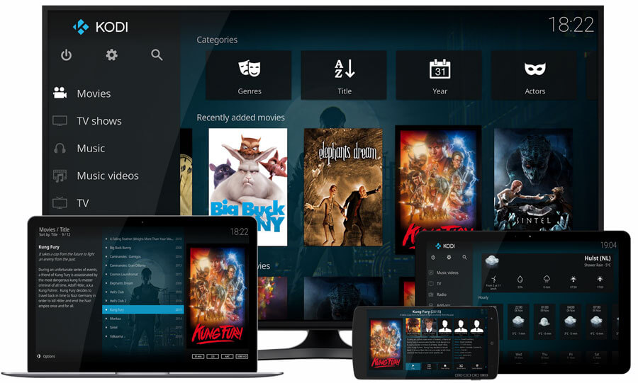 Kodi Home Theater Software