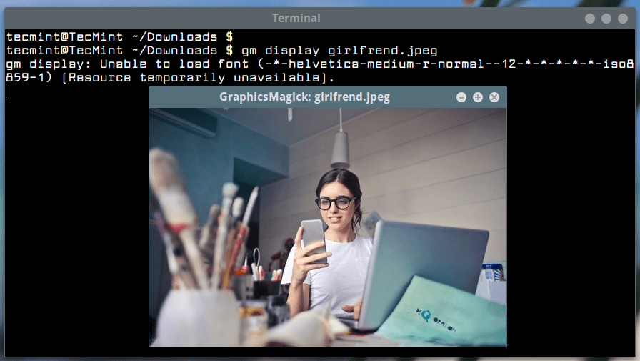 View Image in Linux Terminal