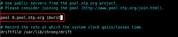 Add a Pool of NTP Servers