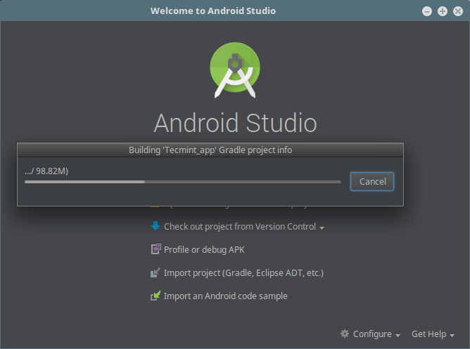 Building App Gradle Project