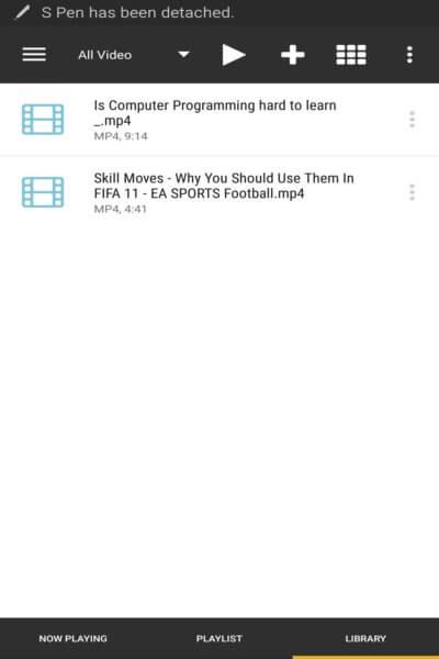 Stream Files via Gerbera Server