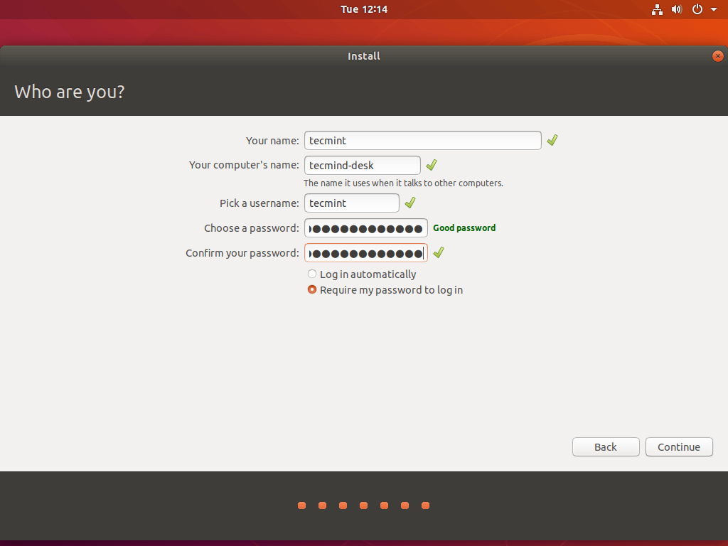 Create Ubuntu User Account