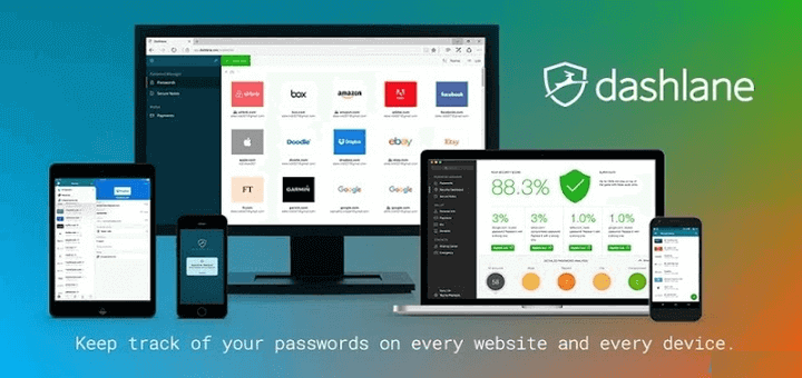 Dashlane Password Manager for PC
