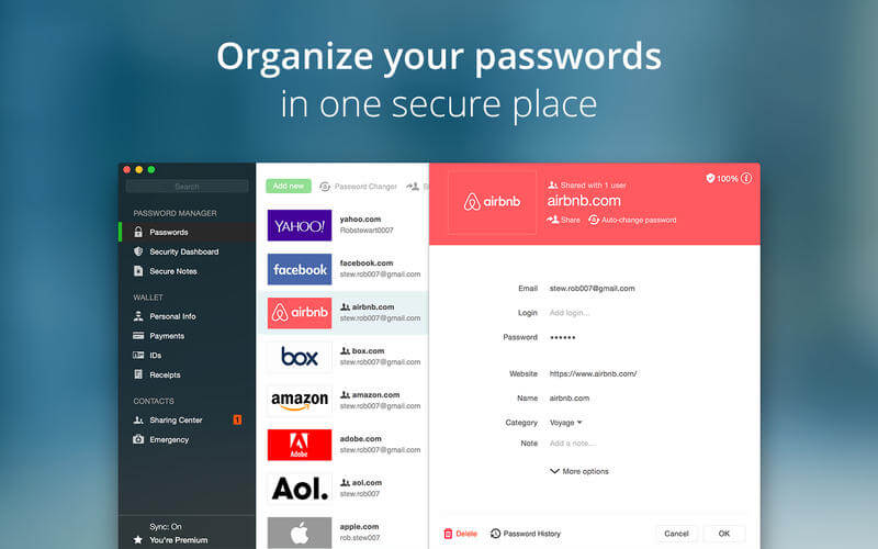 Get Dashlane Password Manager with 3-Yr Premium Subscription