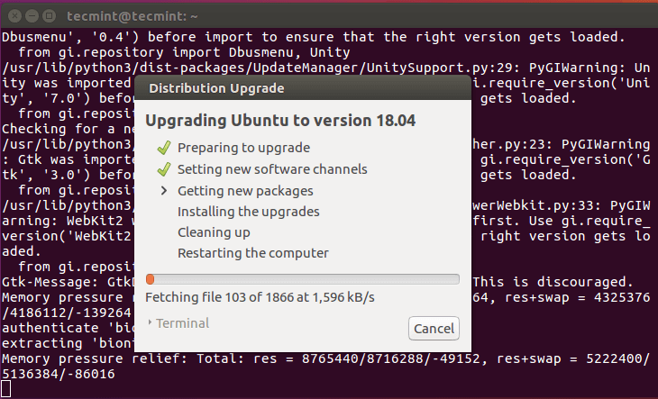 Downloading Ubuntu 18.04 Packages