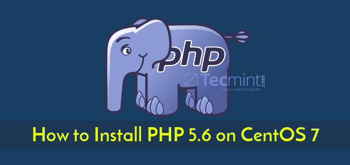 Install PHP 5.6 in CentOS 7
