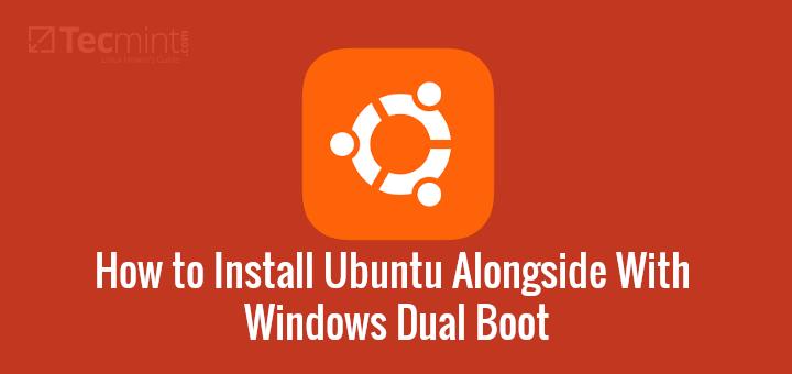 Install Ubuntu Alongside with Windows