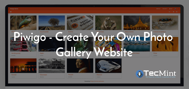 Piwigo Create Photo Gallery Website