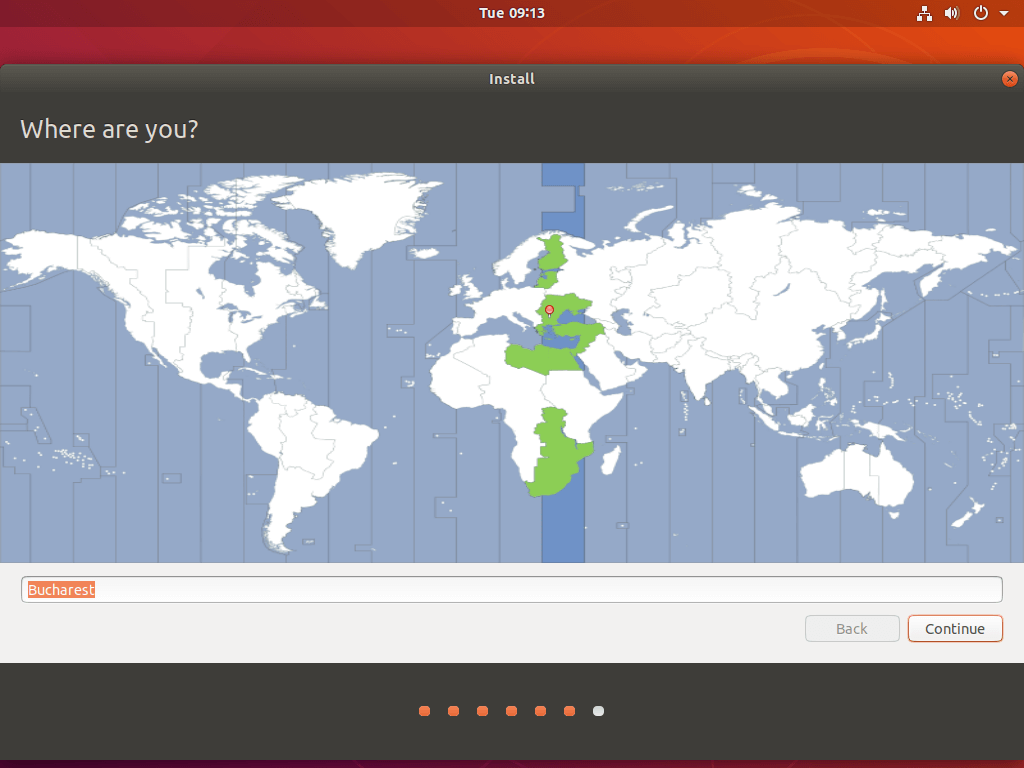 Select Your Country Location
