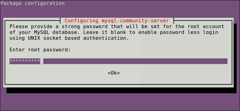 sudo apt-get install mysql-client