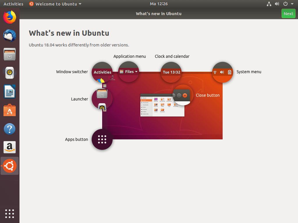 Ubuntu New Features