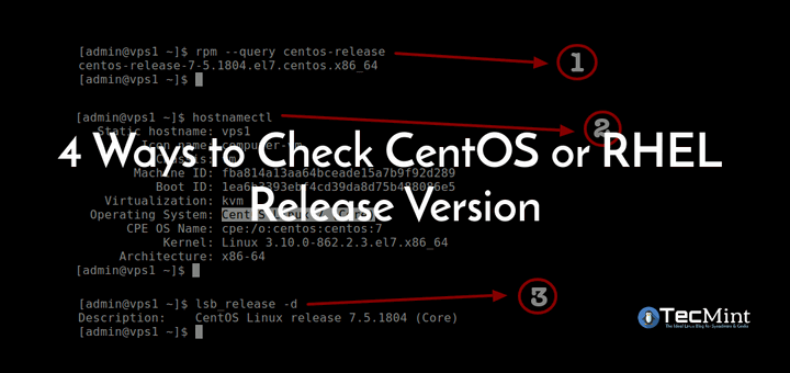 Check CentOS Version