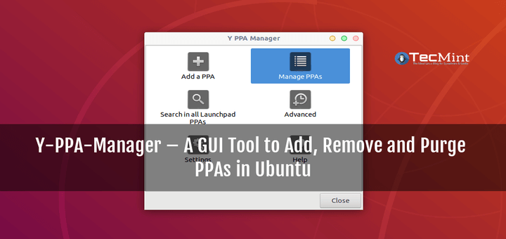 Y-PPA-Manager for Ubuntu